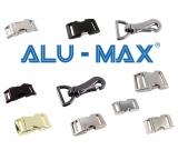 ALU-MAX® Schnellverschlüsse und Karabinerhaken